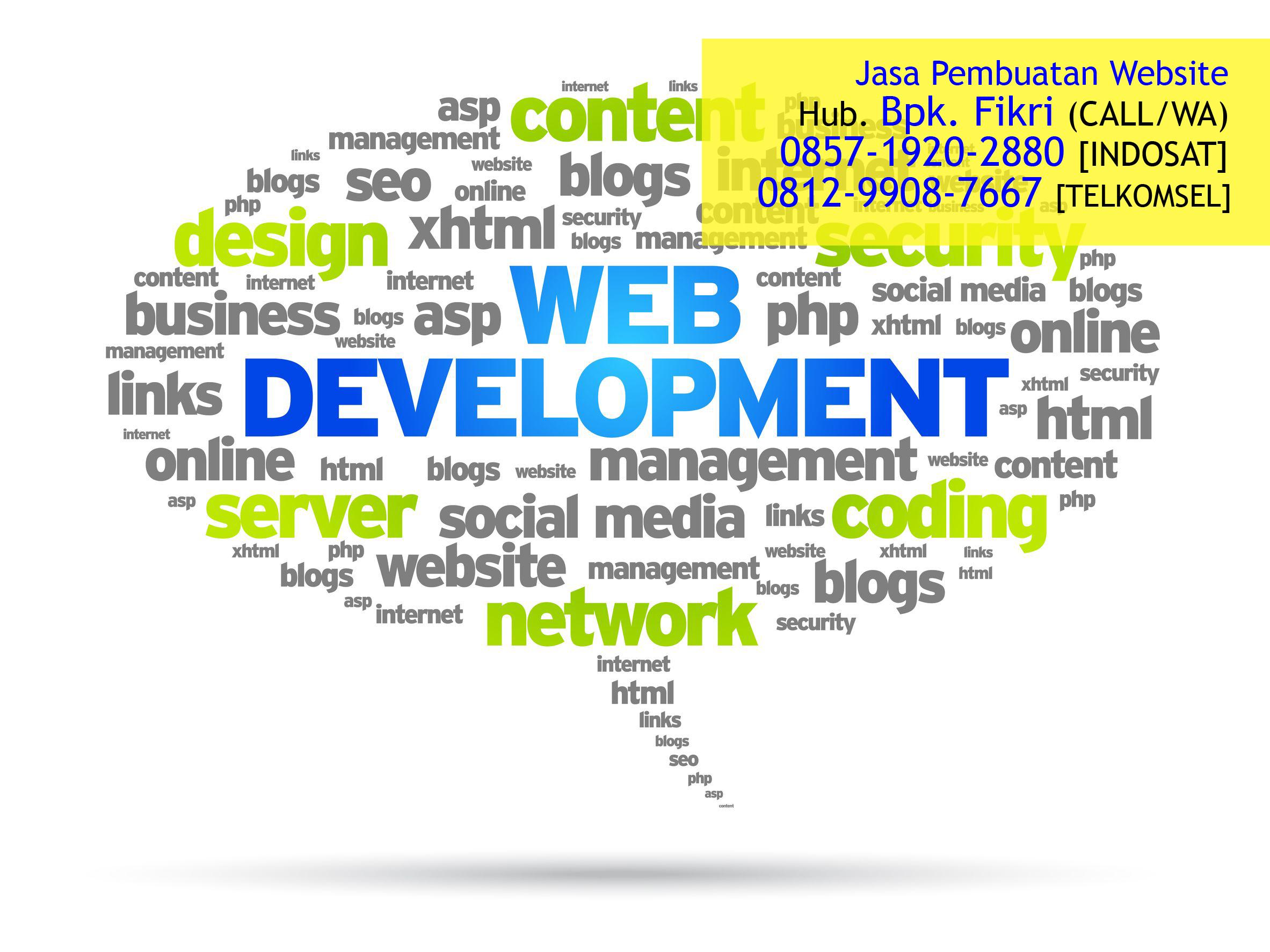 Jasa Pembuat Website Murah di Bekasi